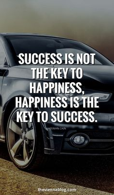 If you happy for your work then success will got one day