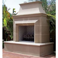 American Fyre Designs Reduced Cordova Vent Free Outdoor Fireplace #LearnShopEnjoy