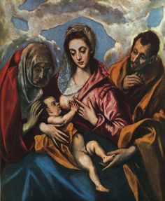 Holy Family by  El Greco ~1594