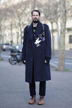 20 street style shots from outside Men's Fashion Week that have us like woah