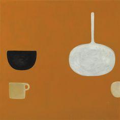 William Scott, Orange Still Life