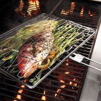 Stainless Steel Flexi Grill Basket