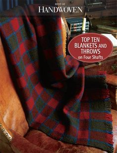 Best of Handwoven: Top Ten Blankets and Throws on Four Shafts