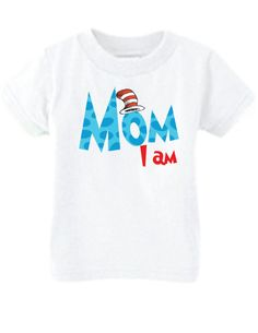 Dr. Seuss Parent of the Birthday Child by LittlePersonalTouch