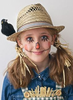 Sweet scarecrow Simple colorful