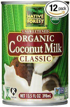 ** Special offer just for you.: Native Forest Organic Classic Coconut Milk, Cans (Count of at Baking Ingredients. Organic Coconut Milk, Coconut Cream, Coconut Oil, Macros, Native Brand, Honey Lime Dressing, Coconut Shampoo, Homemade Eggnog, Coconut Drinks