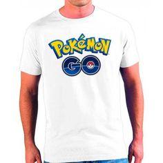 Camiseta Pokémon Go Logo (Poli)