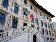 Alfredo Panzini,Viaggio di un povero letterato,pag.116/118- Fratelli treves.Pisa - Piazza dei Cavalieri - Scuola Normale superiore
