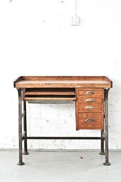 Industrial Desk | Patina