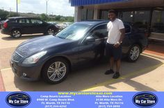 https://flic.kr/p/J2FSoP | Congratulations Timmy on your #Infiniti #G25 Sedan from Josh Pedroza at My Car Store! | deliverymaxx.com/DealerReviews.aspx?DealerCode=OUVL