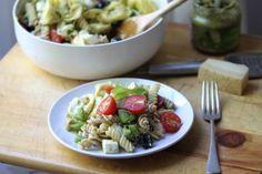 Cheese Tortellini Pesto Pasta Salad Recipe - Food.com