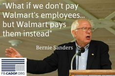 **(Watch) Senator Bernie Sanders Ask A Panel Of Experts To Defend Walmart. It Gets Awkward. | upworthy