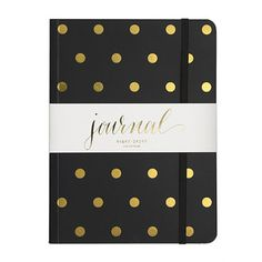 A polka dot notebook for collecting your inspiration and ideas. | | 30% off full-price styles * Use code HOLIDAY