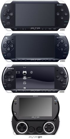 Sony Playstation Portable. PSP. Evolution.