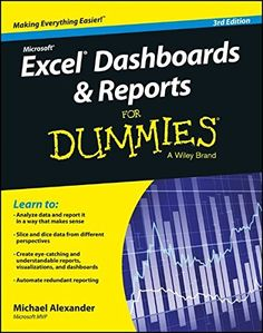 Download free Excel Dashboards and Reports for Dummies pdf