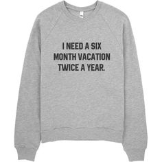 Six Month Vacay ($35) ❤ liked on Polyvore featuring tops, hoodies, sweatshirts, sweaters, shirts and sweatshirt