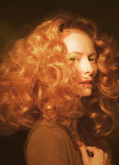 Tilda Swinton by Glen Luchford for cover of Dazed & Confused May 2010.