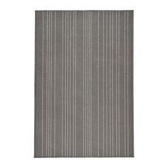 IKEA - HULSIG, Alfombra, pelo corto, Al estar hecha de fibras sintéticas, la alfombra no se mancha y es resistente y fácil de mantener.El material antideslizante de la parte de atrás hace que la alfombra no se mueva y se reduce el riesgo de resbalones.