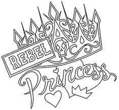 Grand Sewing Embroidery Designs At Home Ideas. Beauteous Finished Sewing Embroidery Designs At Home Ideas. Skull Coloring Pages, Love Coloring Pages, Printable Adult Coloring Pages, Coloring Books, Coloring Sheets, Swear Word Coloring Book, Desenho Tattoo, Rebel, Decoration