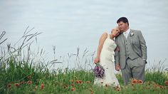 A wedding at home: front yard ceremony, back yard reception.  -- film by PenWeddings, design by Allyson VinZant events #wedding #video
