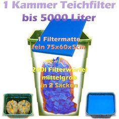 Teichfilter Aufbau und Filtermedien Reihenfolge   Teichfilter Filters, Ponds, Rain Water Collector, Psychics, Sketches, Tutorials