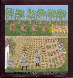 """28 – THE BEES SAVE ME  (From the picture): """"June 1943, in Grabowka. While I was tending the garden I had planted, two Nazi soldiers appeared and began to talk to me. I couldn't let them know that I understood them, so I just shook my head as they spoke. Dziadek, the old farmer who had taken me in as his housekeeper, came to stand watch nearby, but the honeybees rescued me first, swarming around the soldiers. 'Why aren't they stinging you?,' the soldiers asked Dziadek as they ran out of the…"""
