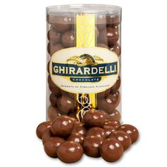 I miss San Francisco! Aside from the dark chocolate bars, I love the Ghirardelli Milk Chocolate Malt Balls!