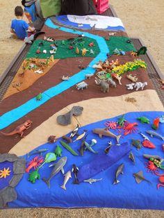 Animal Habitats: I think this would be a challenging sorting game. I like the idea of comparing characteristics of animals that live in different habitats! Australian Curriculum - things lie in different places where their needs are met Animal Activities, Science Activities, Preschool Activities, Animal Science, Animal Classification, Sorting Games, Animal Habitats, Kindergarten Science, Zoo Animals