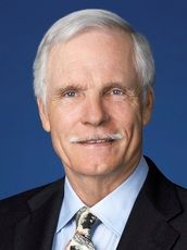 """Robert Edward """"Ted"""" Turner III was actually born in Cincinnati, Ohio, in 1938. Most people know the name Ted Turner as the owner and founder of Turner Broadcasting, the owner of the Atlanta Braves baseball team, and the owner and founder of CNN. Many Montanans know him as the largest private landowner in the state, with his Flying-D ranch alone coming in at over 119,000 acres!"""