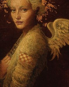 Men and Angels. Painted by James Christensen ~Art that Inspires~