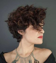Short Curly Hair Pics to Help You Create a New Look  Love this Hair