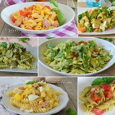 62 Ideas For Pasta Ricette Semplici Easy Cooking, Cooking Recipes, Best Pasta Recipes, Summer Recipes, Italian Recipes, Spaghetti, Clean Eating, Food And Drink, Gastronomia