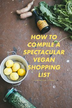 Grocery Shop Like a Vegan Pro with this list of helpful tips
