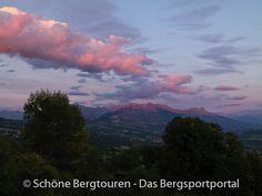 Schöne Abendstimmung über Gap in den Hautes-Alpes - Foto: Mario Hübner