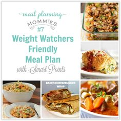 weight watchers meal plans for 32 points
