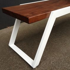 The TREK Coffee Table. Handmade in Portland Oregon. by VINCAdesign