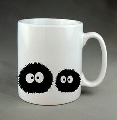 My Neighbor Totoro Spirited Away mug Ghibli No face Soot Sprites coffee mugs printed travel novelty birthday gift design tea cup