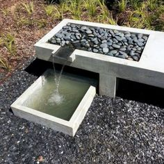 Water features are an important aspect of custom landscape design. Landscape specializes in designing and installing water features and excels . *** Learn more information by clicking the link on the image. Modern Water Feature, Backyard Water Feature, Ponds Backyard, Garden Pool, Garden Water, Backyard Patio, Backyard Ideas, Modern Landscape Design, Modern Landscaping