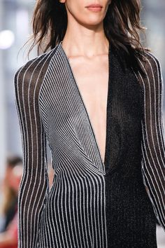 Proenza Schouler Spring 2014 Ready-to-Wear Collection Slideshow on Style.com. Similar to Op Art illusions