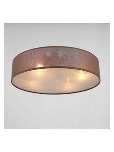 Plafondlamp Copini-design Bruin medium