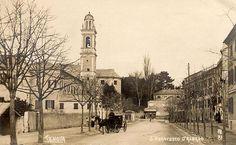 GENOVA - S. Francesco d'Albaro - FOTO STORICHE CARTOLINE ANTICHE E RICORDI DELLA LIGURIA