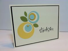 Stampin Sunshine (made from all circle punches)