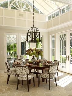 40 Sunny Breakfast Tables. Start your day with a cheery, bright breakfast setting inspired by the work of top designers. Whether it's a vacation home in the country or a city penthouse, these spaces make the first meal of the day a pleasure. Find your dream house plan at www.dongardner.com. #WeDesignDreams #DonGardnerArchitects