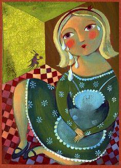 Alice in Wonderland, illustrated by Alida Massari, 2008