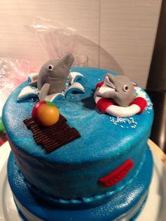 Voor de verjaardag va Evelien: dolfijnen. 10 juli 2014.