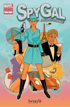 Spygal #1, cover by Phil Noto
