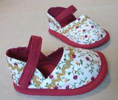 Как сшить детская обувь своими руками