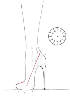 how to draw shoes step 7