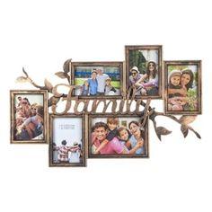 Κάδρο Φωτογραφιών Family Μπρονζέ (6 Θέσεων) 60x38 cm Frame, Home Decor, Picture Frame, Decoration Home, Room Decor, Frames, Home Interior Design, Home Decoration, Interior Design