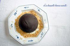 Le dôme en chocolat... réalisé au ballon de baudruche.